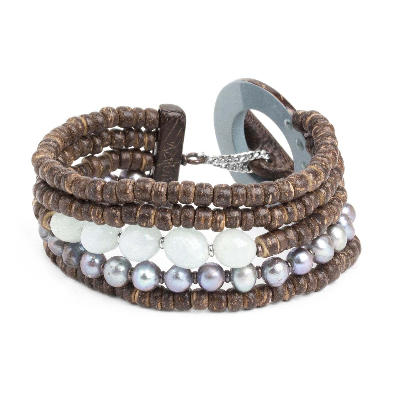 TAMAKO bracelet 5 rangs