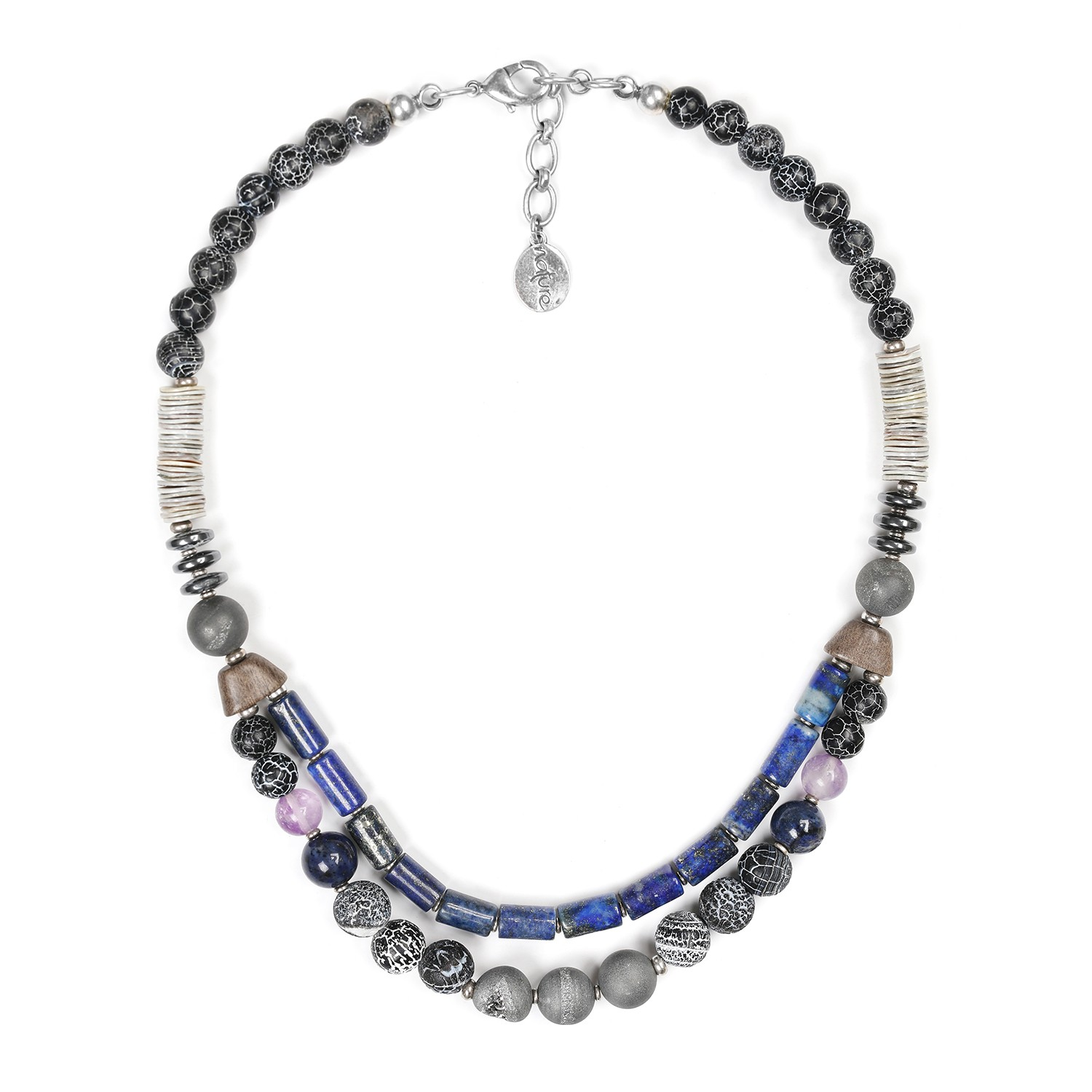 BAIKAL 2-row necklace