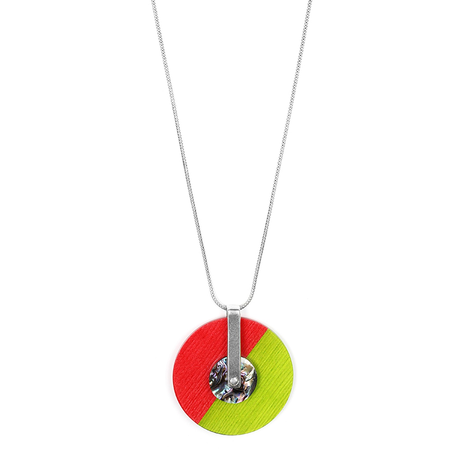 COLOR BLOC long necklace