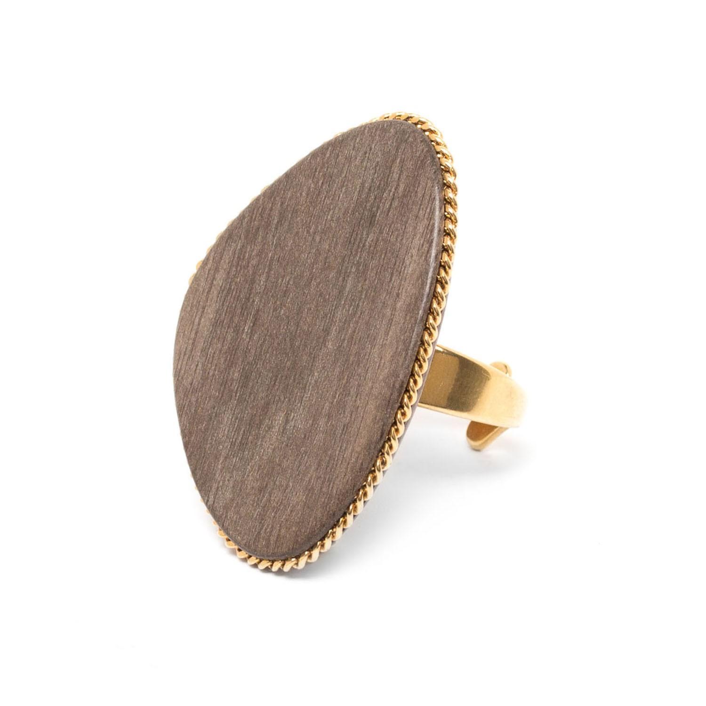CHAMBORD grey ebony ring
