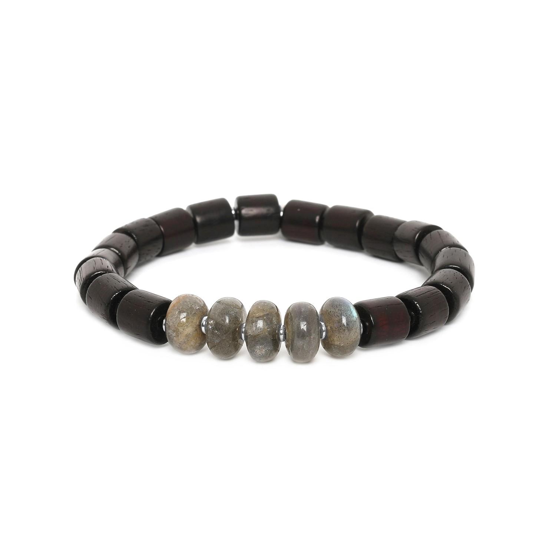 SANTAL labradorite men bracelet