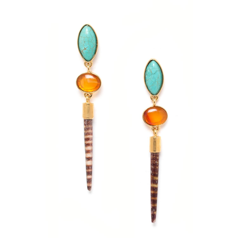 TRESORS BO turquoise & épine d'oursin