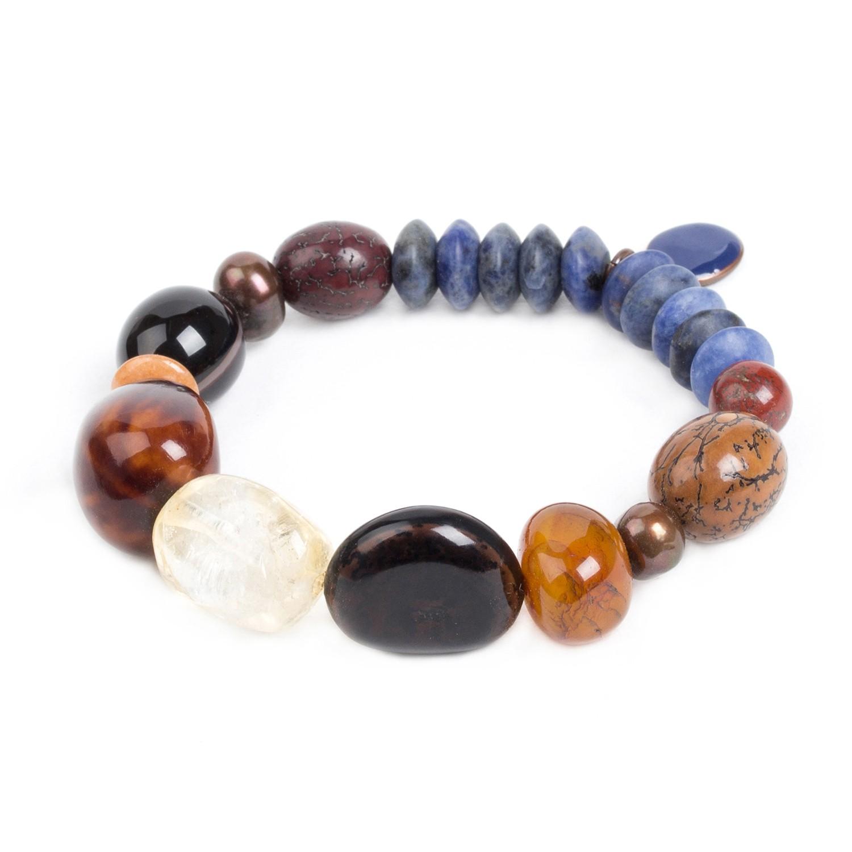 MALAWI sodalite stretch bracelet