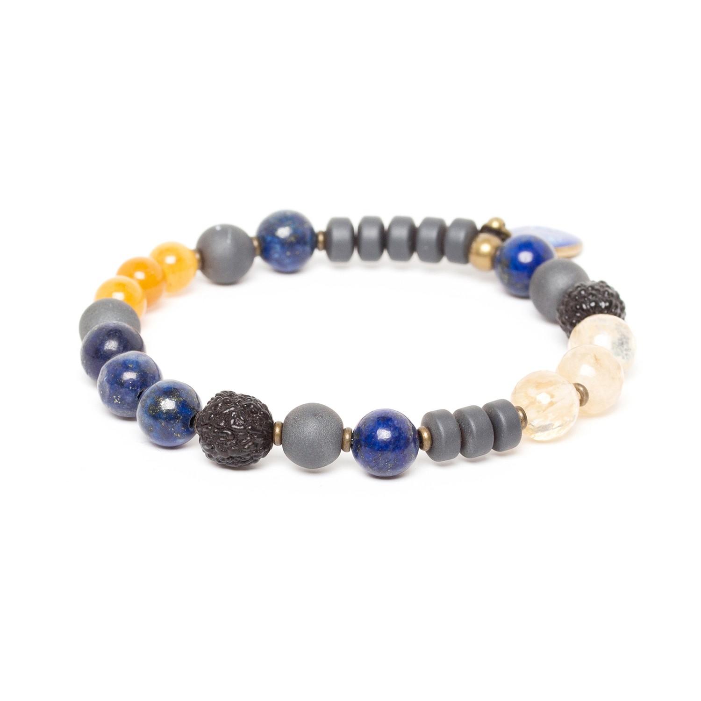 BLUE TRIBE simple stretch bracelet