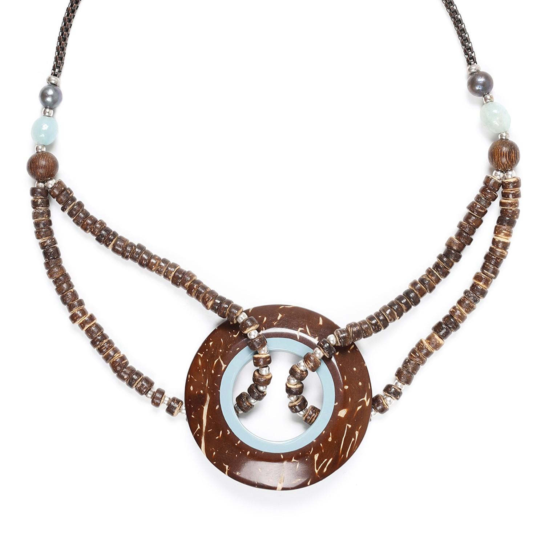 TAMAKO collier anneau