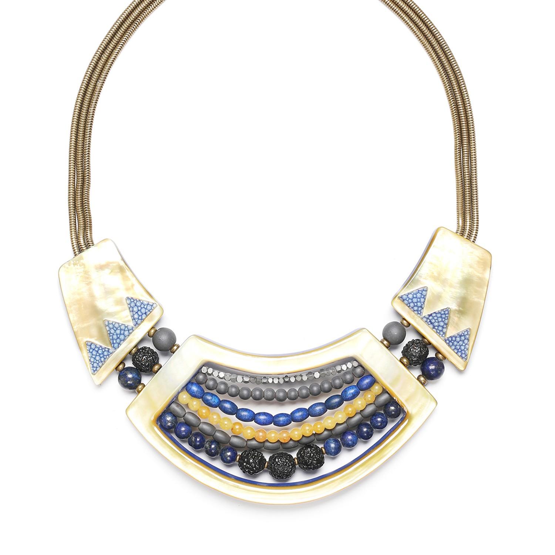 BLUE TRIBE collier 3 éléments