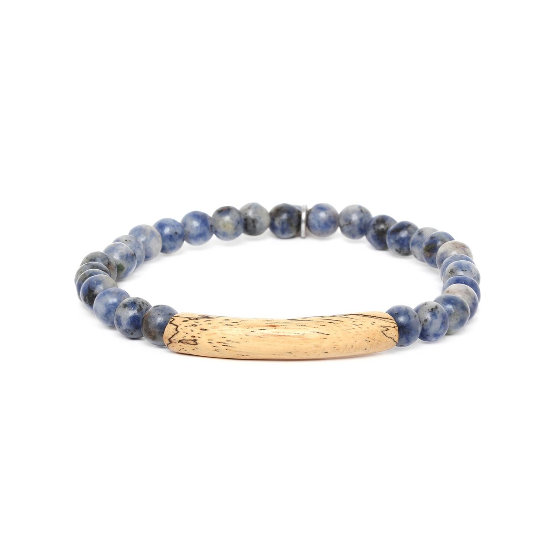 TUBE bracelet homme extensible sodalite