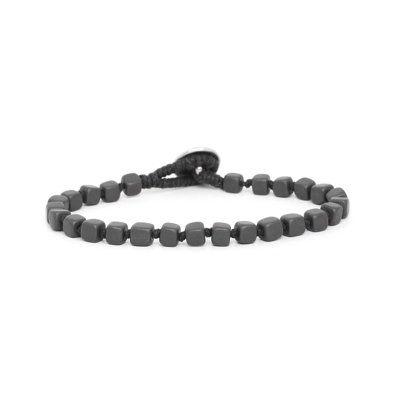 HEMATITE bracelets homme cubes