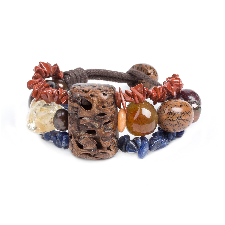 MALAWI 3-row bracelet