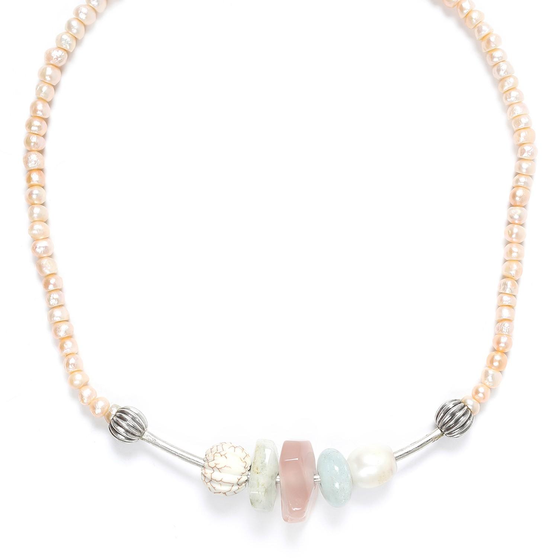 SECRET GARDEN collier perles de culture