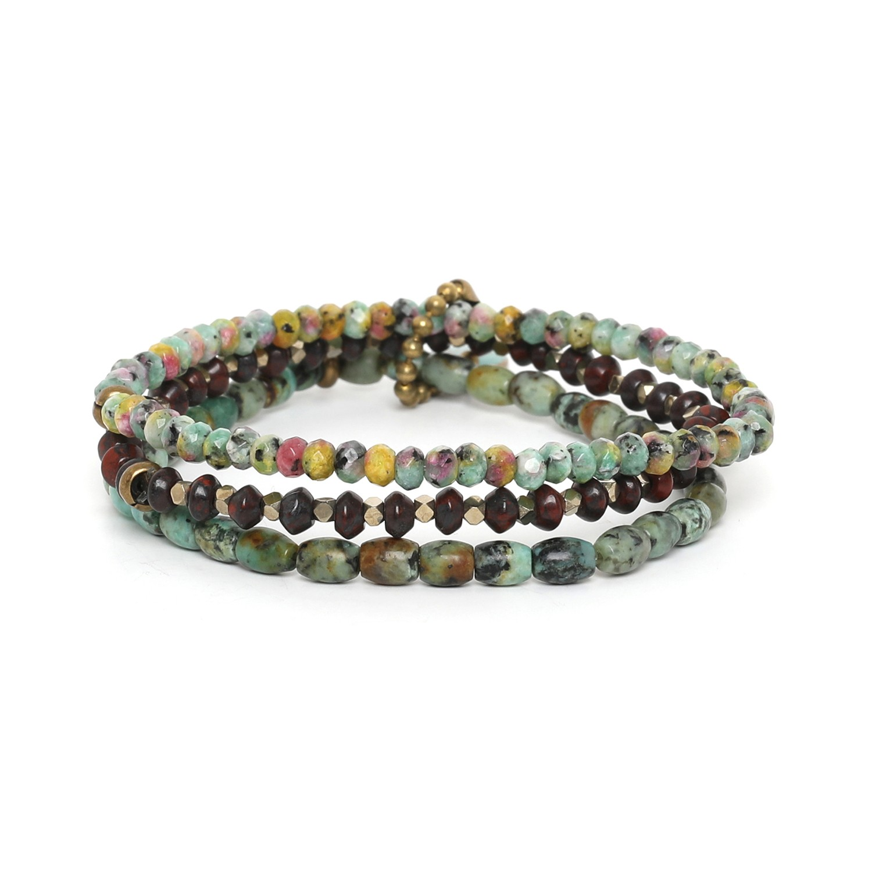 TARAWERA 3 bracelets extensibles