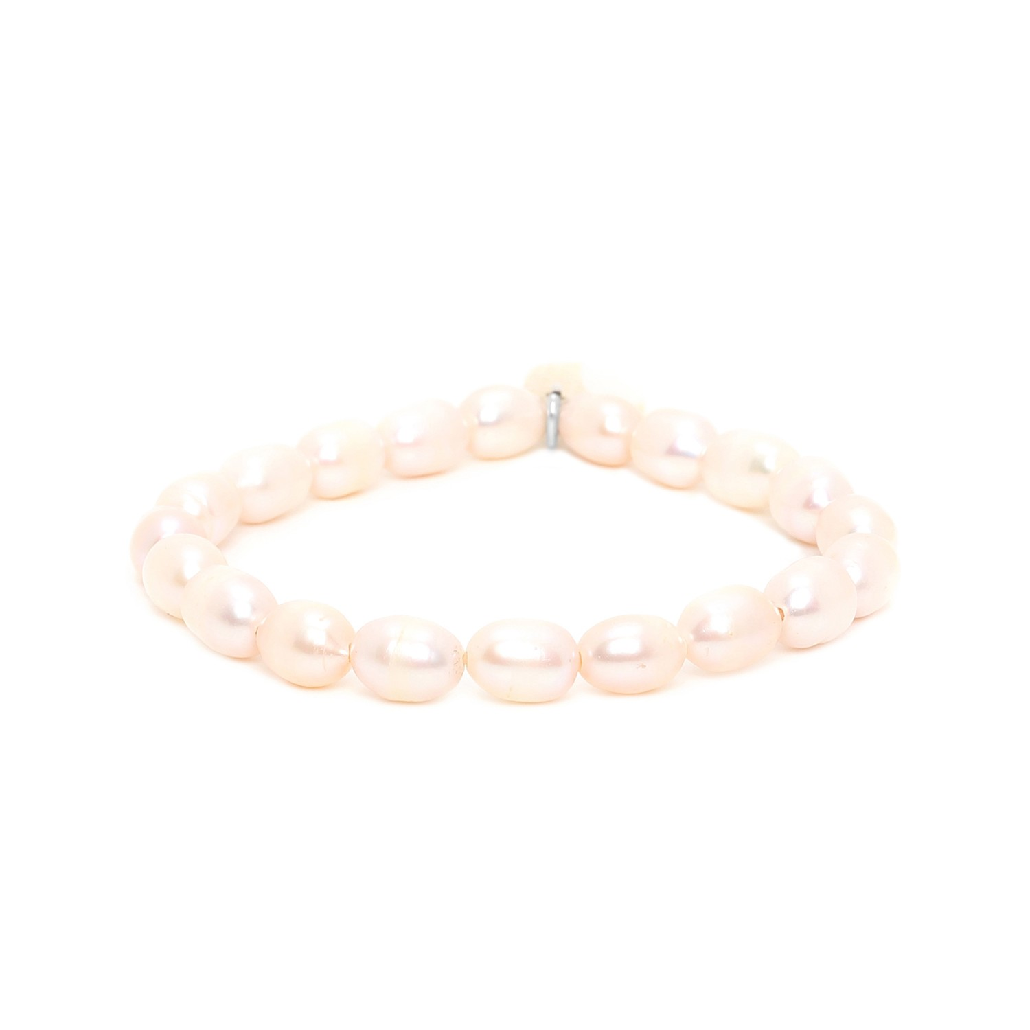 EL NIDO big pearls stretch bracelet