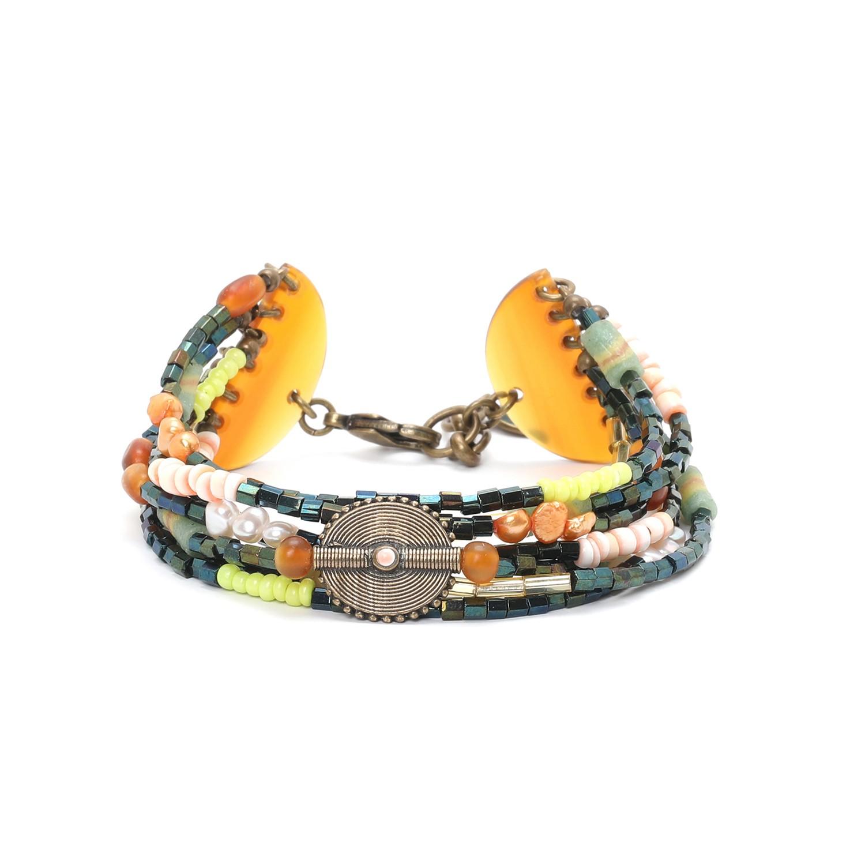 KUMASI bracelet 7 rangs