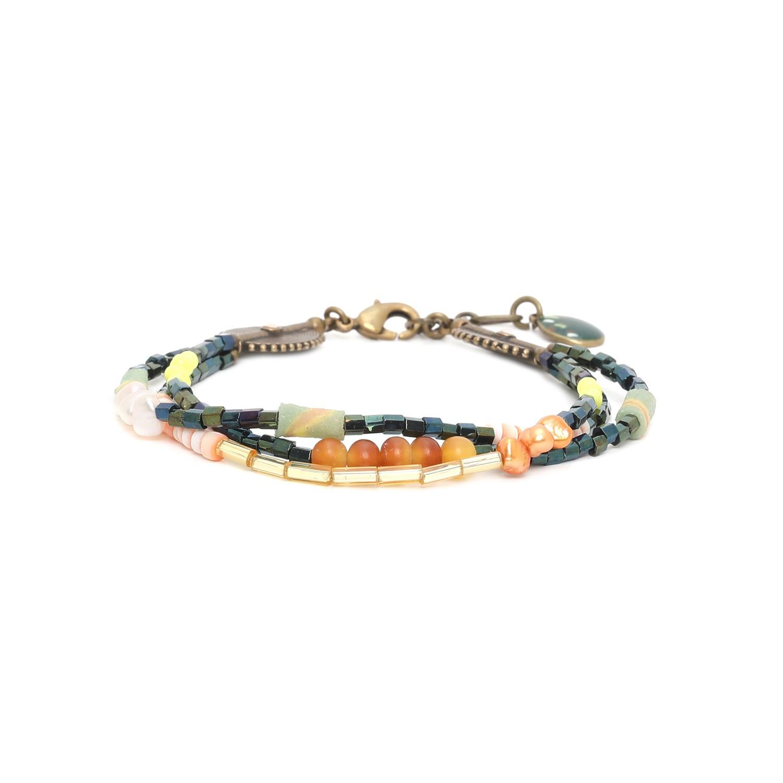 KUMASI bracelet 3 rangs