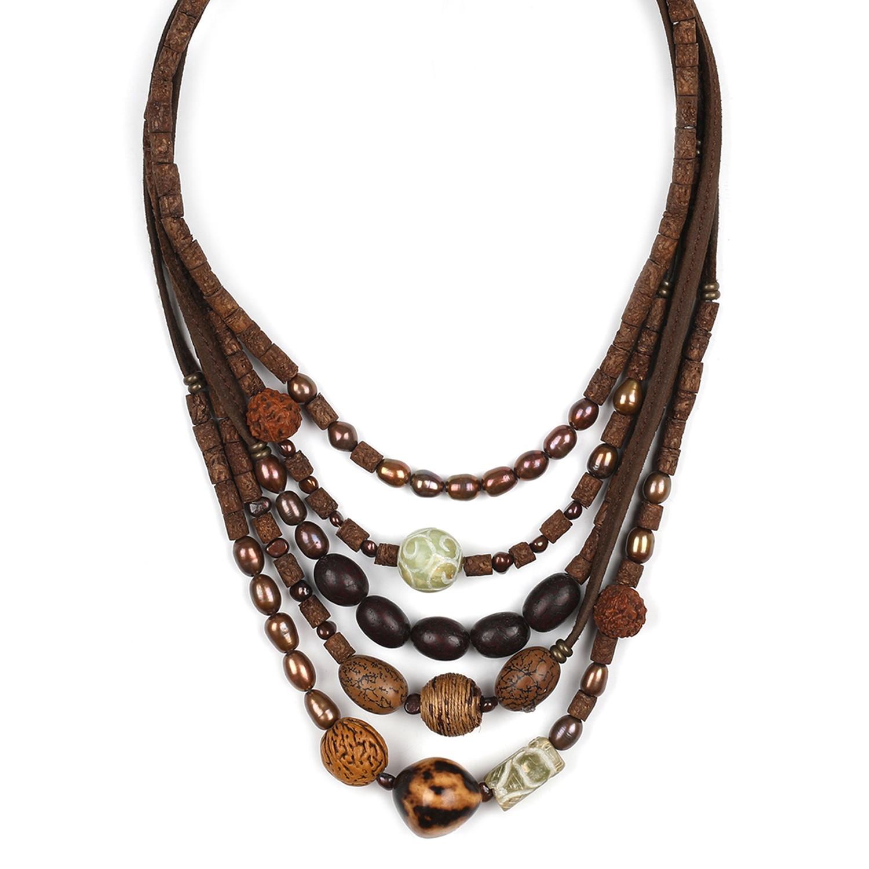 BURUNDI Collar 5 filas