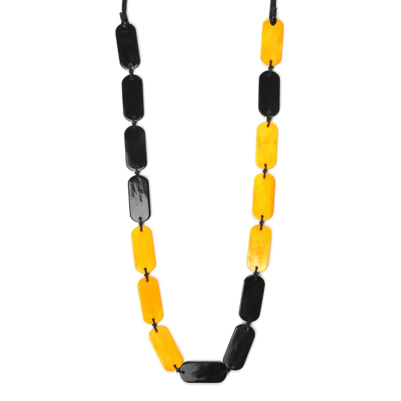 BLACK MANGO collier long