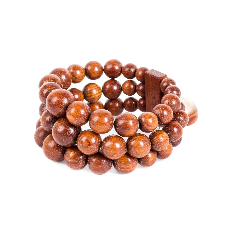 ROUSSETTE 3 row bracelet