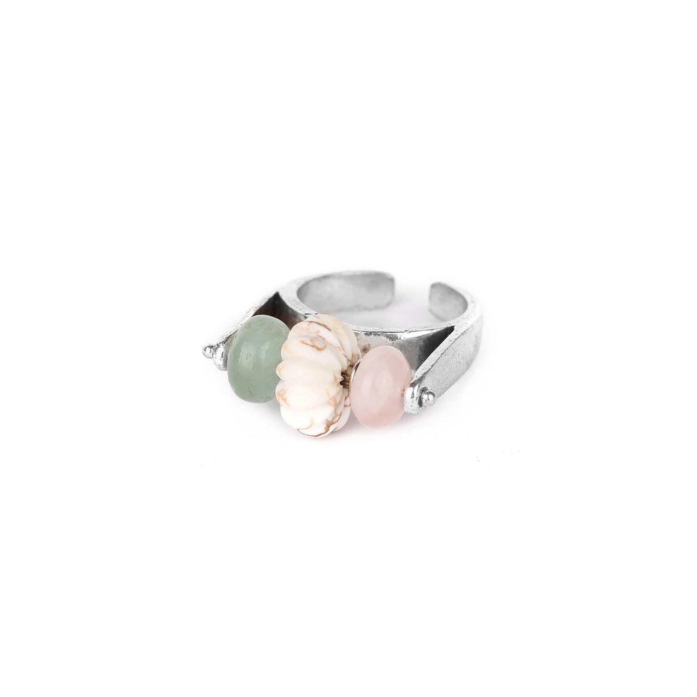 SECRET GARDEN beaded ring
