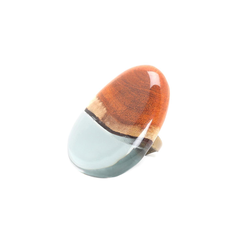 ALCHIMIE anillo ovalado ajustable