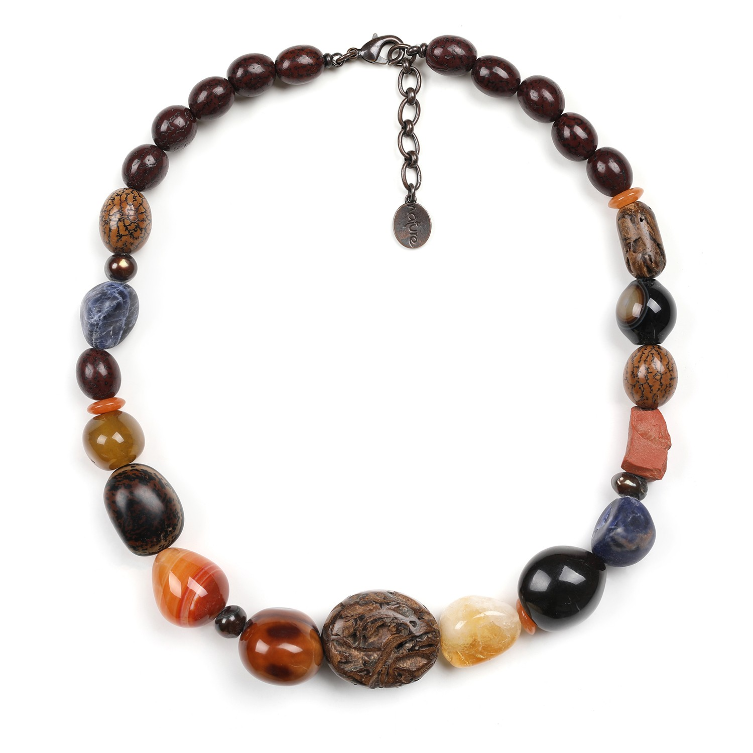 MALAWI assorted beads necklace