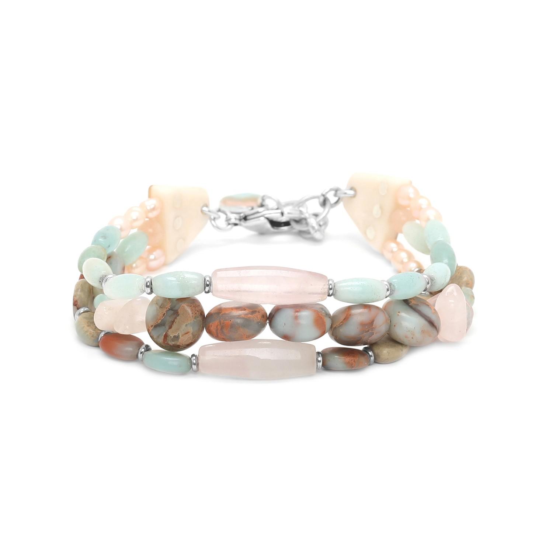 MANYARA bracelet 3 rangs