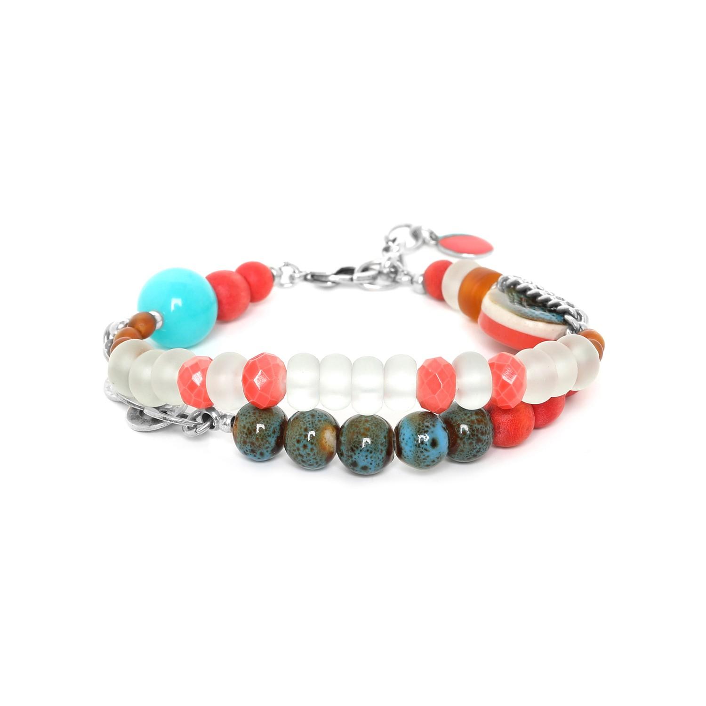 KIRIBATI bracelet 2 rangs