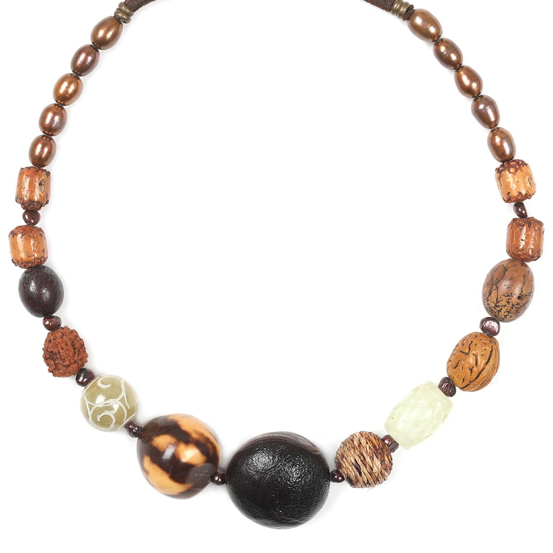 BURUNDI collier dégradé de perles