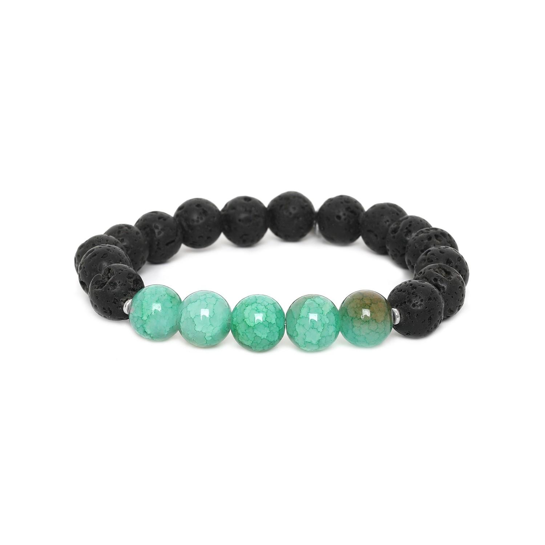 LAVA bracelet homme extensible bleu