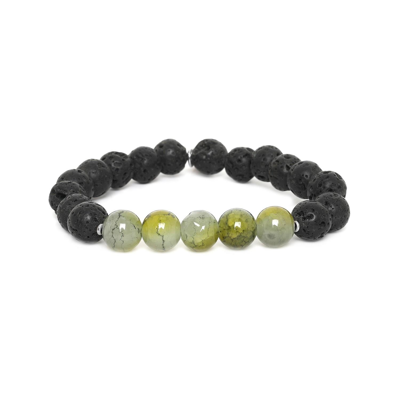 LAVA bracelet homme extensible vert pomme