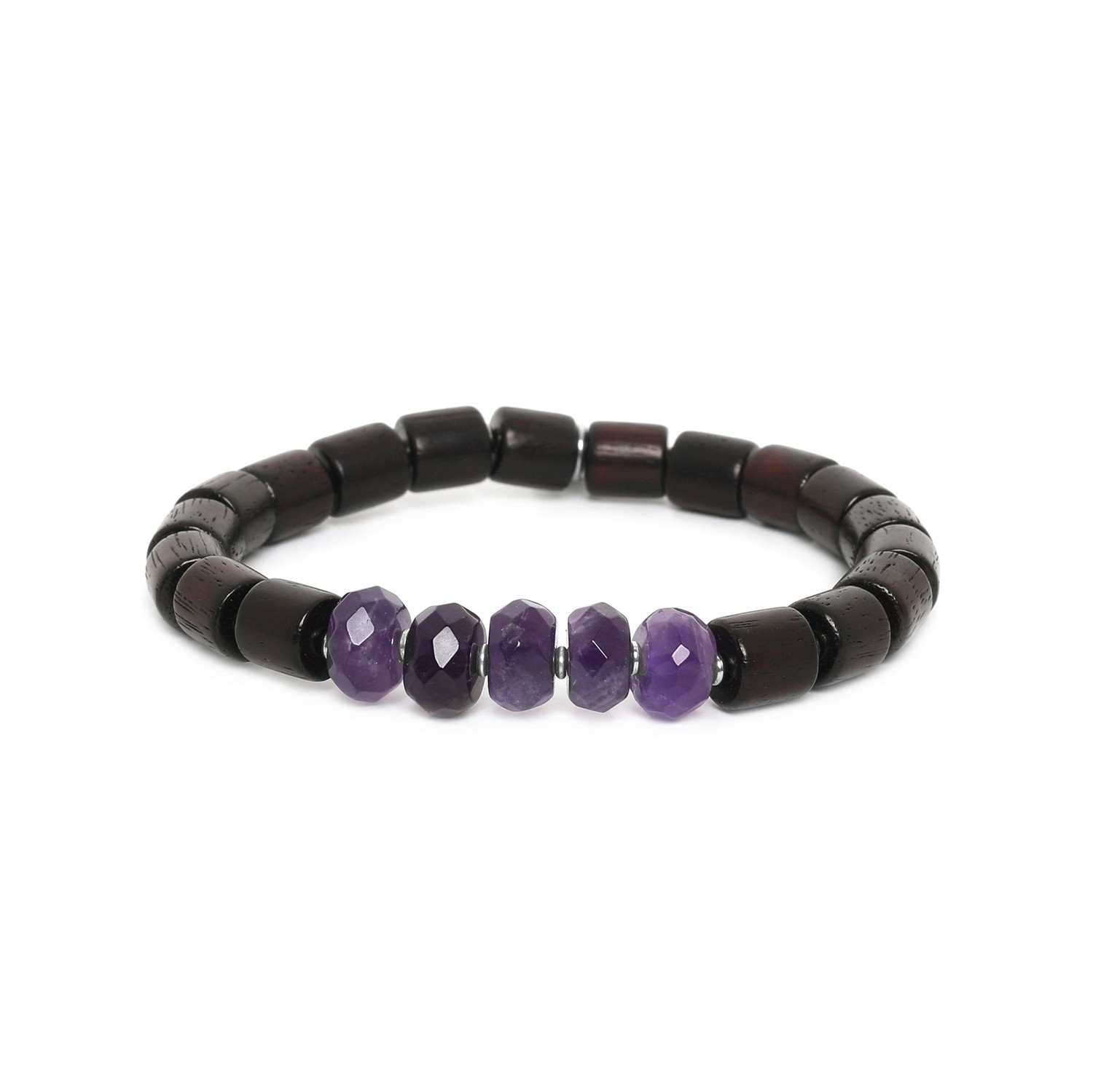 SANTAL amethyst men bracelet