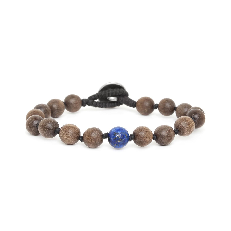 BOUTON bracelet homme lapis