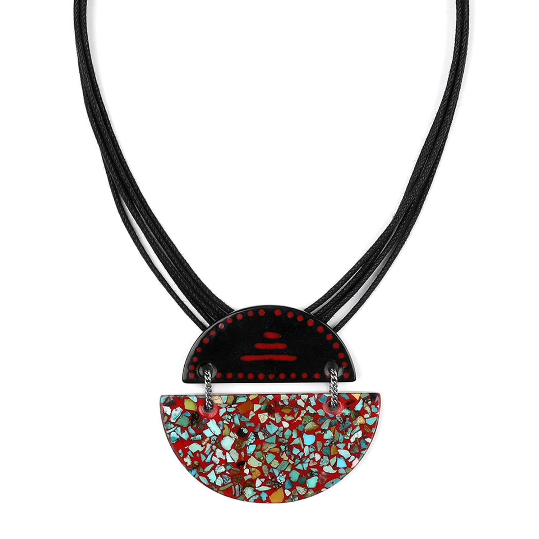 SAGARMATHA collier pendentif