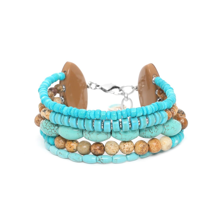 SURIGAO 5 row bracelet
