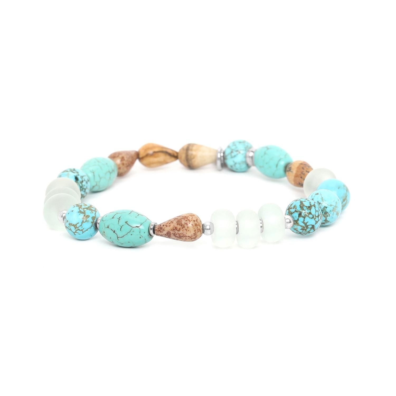 SURIGAO  mixed beads stretch bracelet