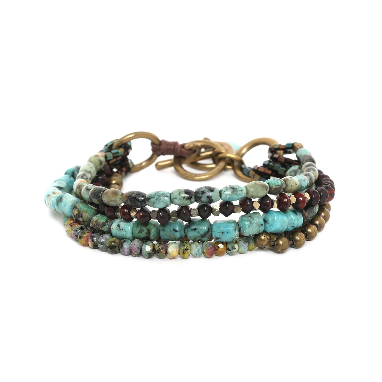 TARAWERA bracelet 5 rangs
