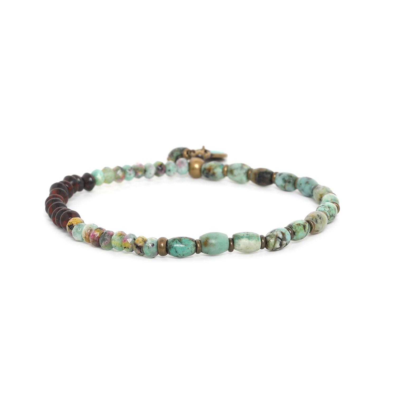 TARAWERA  fin bracelet extensible 50/50