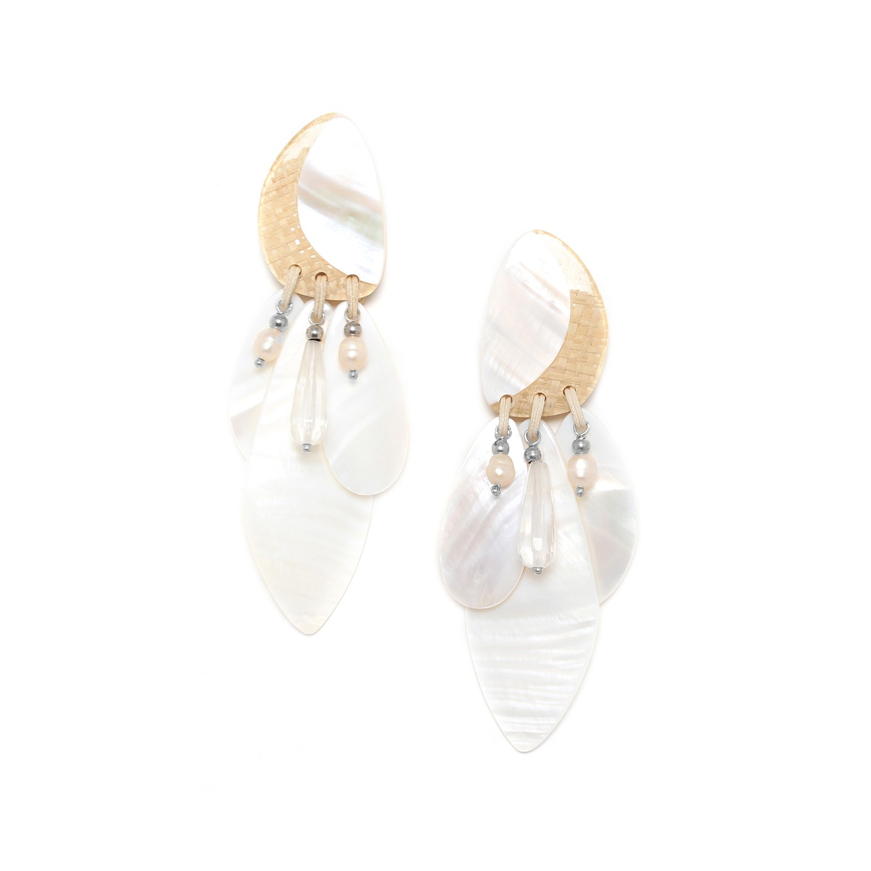 EL NIDO large multidangles earrings