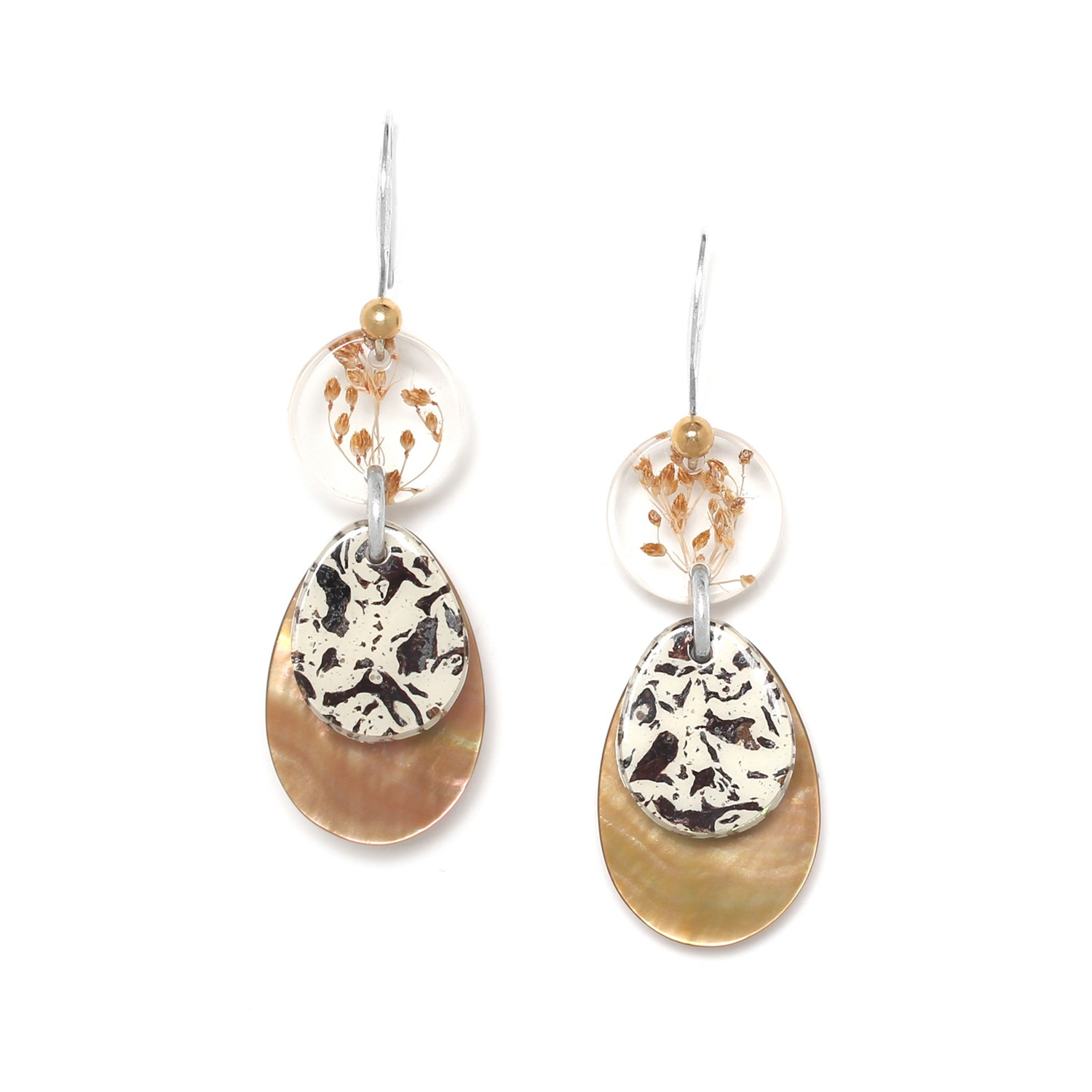 NATURALISTE big hook earrings