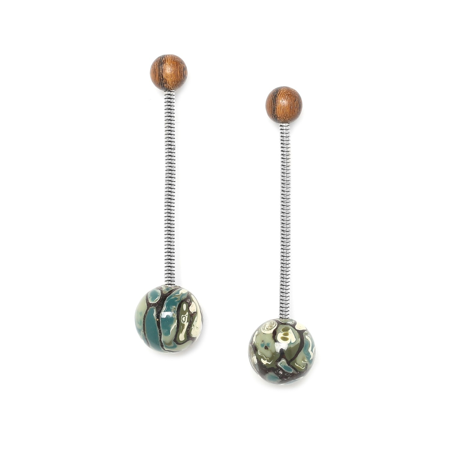 GREENWAY long chain earrings