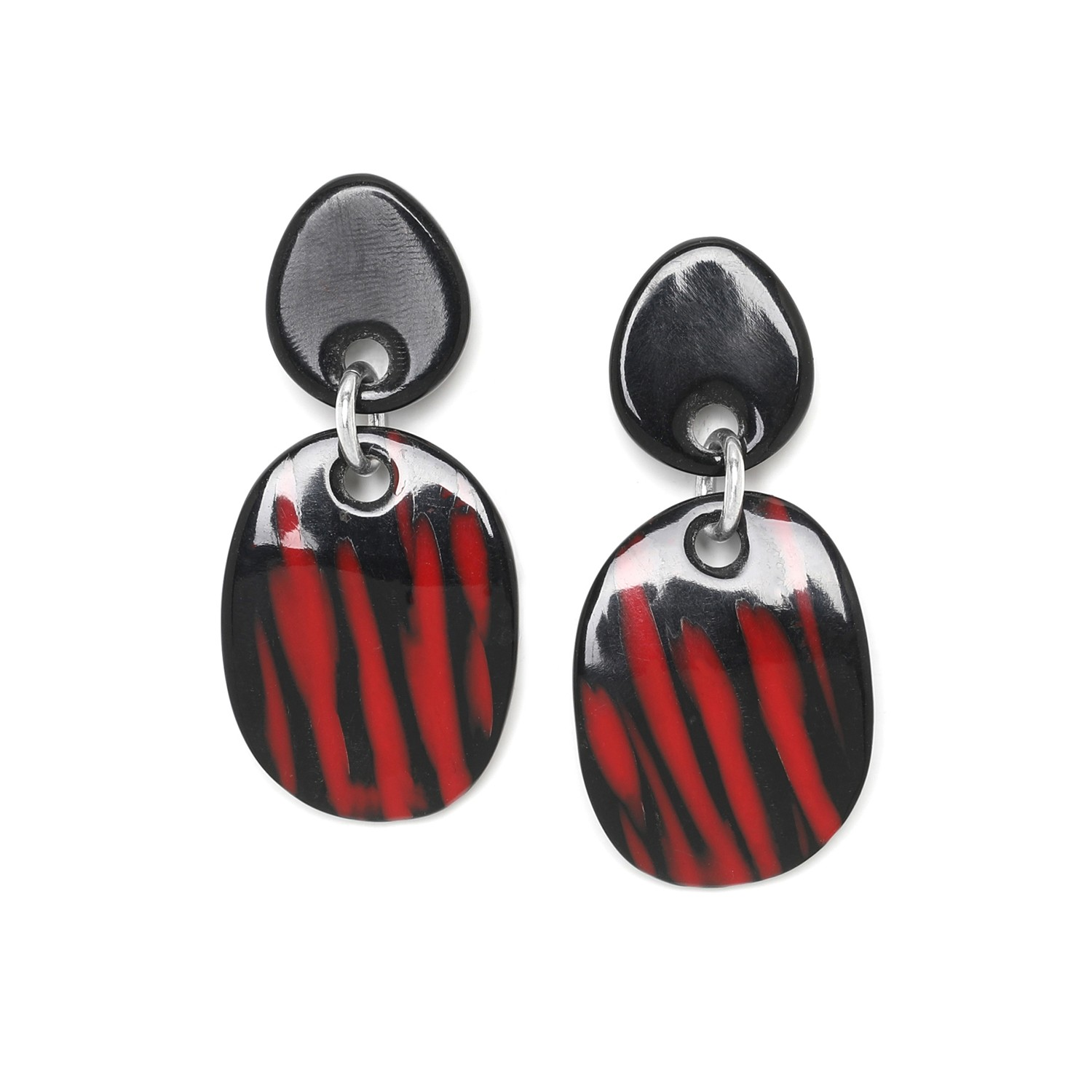 MAGMA boucles d'oreilles ovales