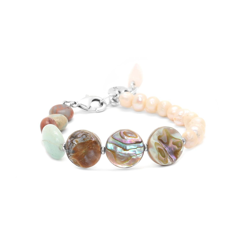 MANYARA cultured pearls bracelet
