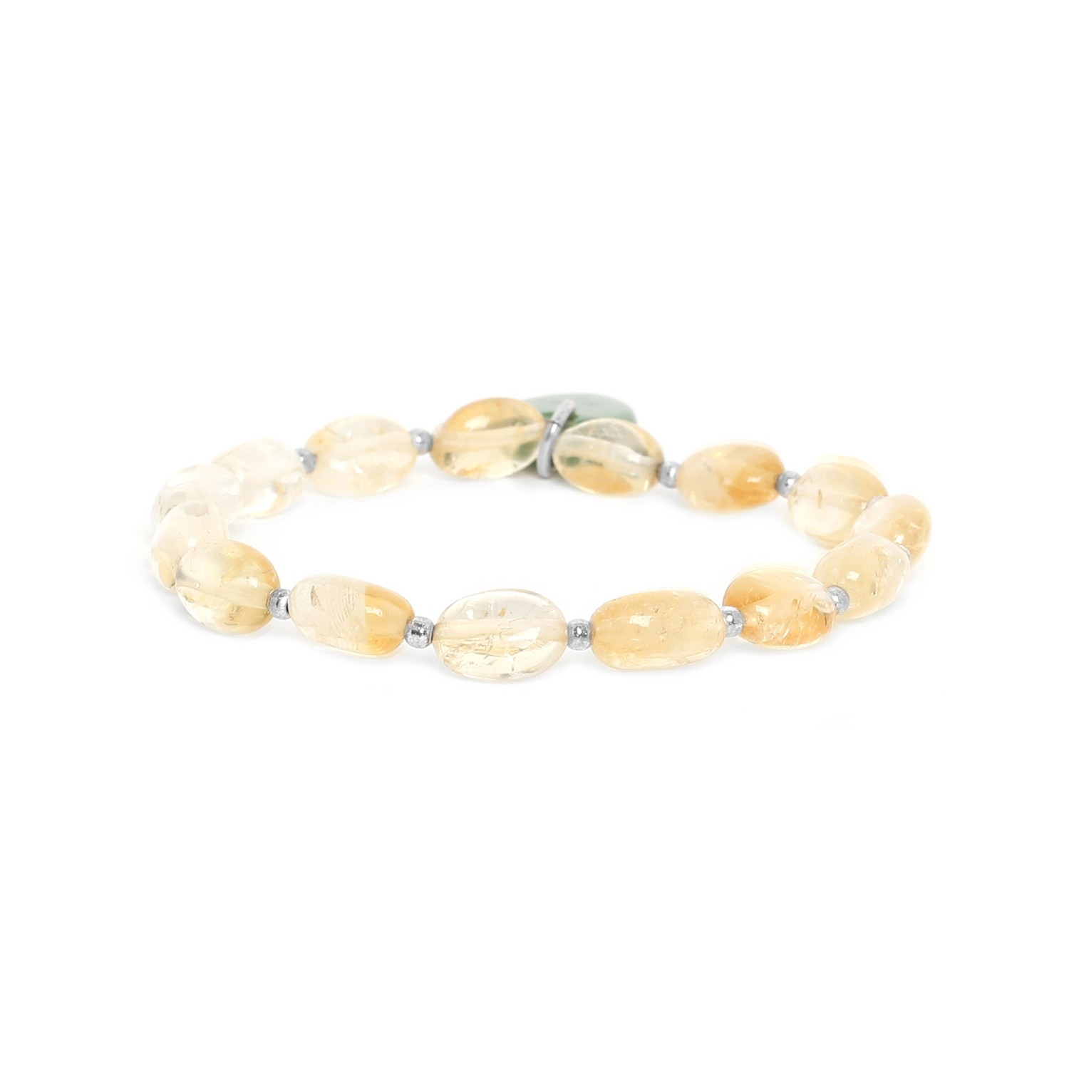 CITRUS citrin stretch bracelet
