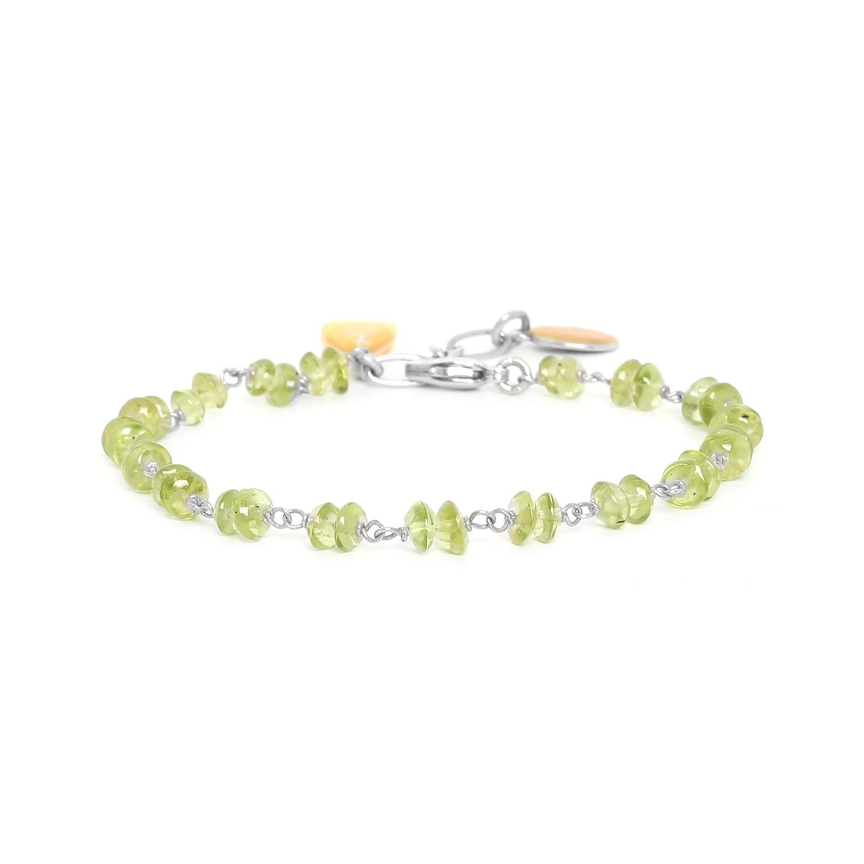 CITRUS bracelet péridot