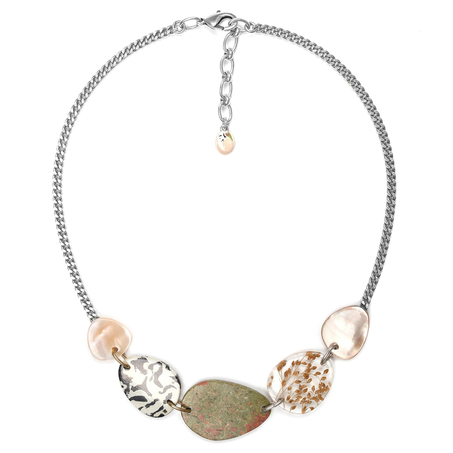 NATURALISTE 5 elements necklace