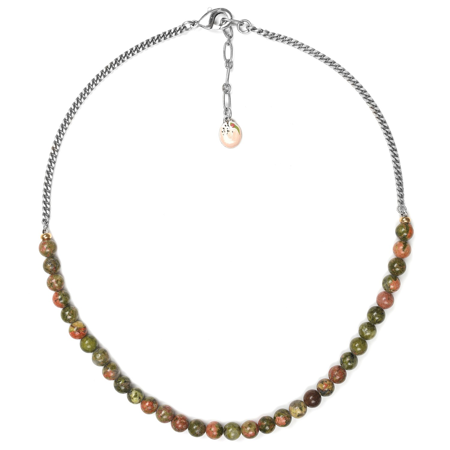 NATURALISTE  collier simple perles rondes