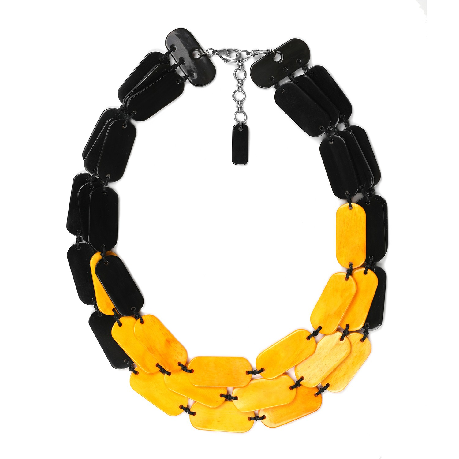 BLACK MANGO Collar grande