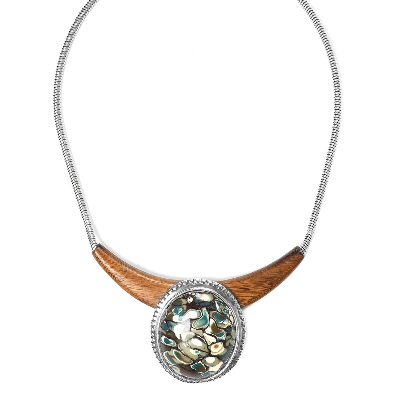 GREENWAY Collar medallón termitero tintado