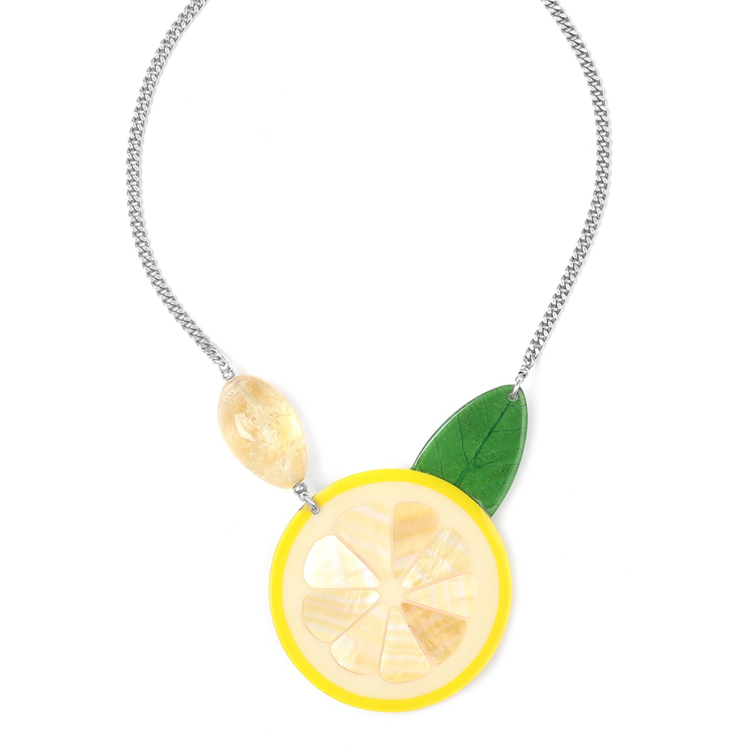 CITRUS gros collier