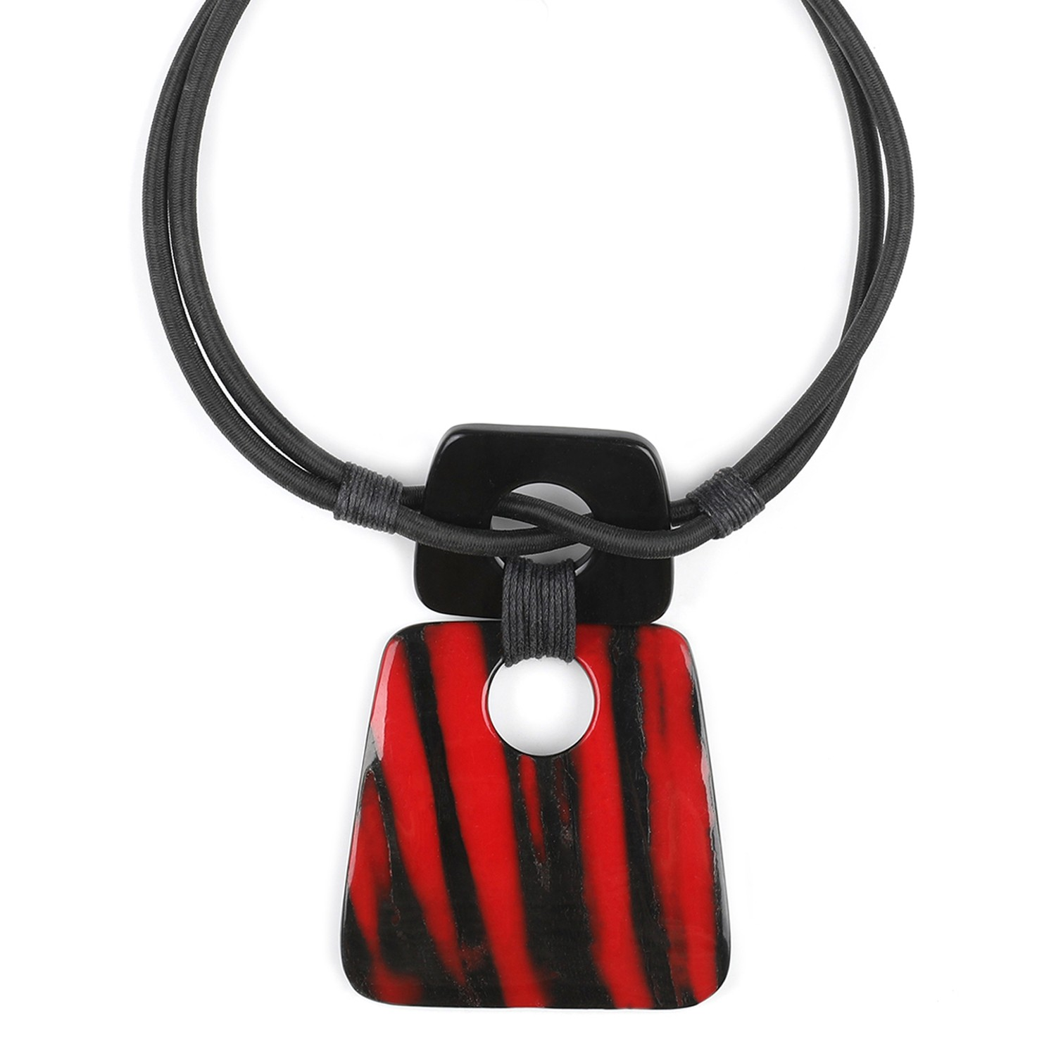 MAGMA 2 cord necklace
