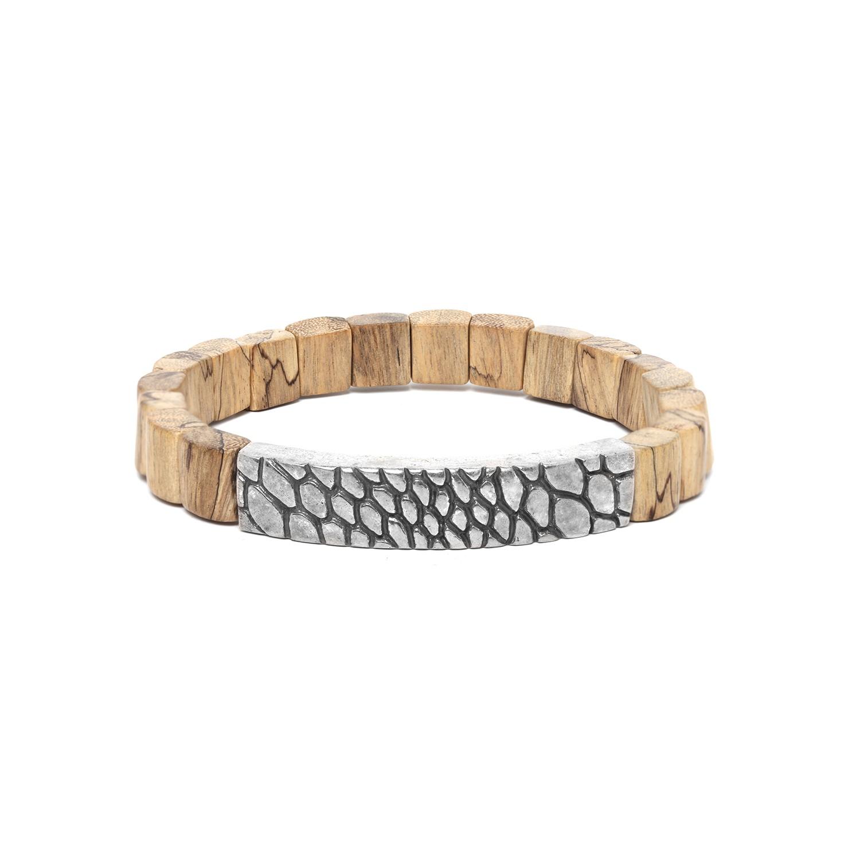 PATTERN bracelet homme tamarinier